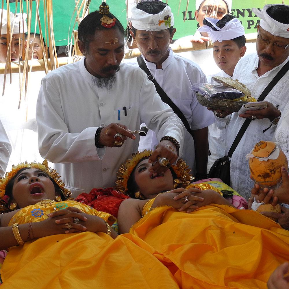 Bali - Zeremonie