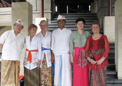 Bali - Reisegruppe