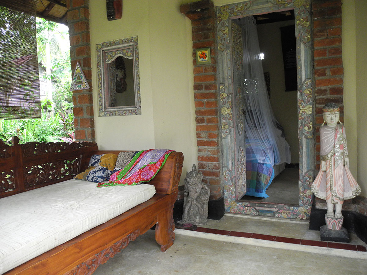 Zimmer im Ashram