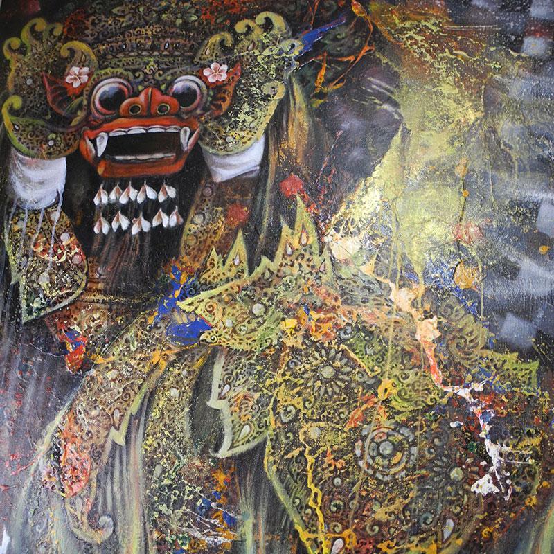 Bali Künstler Dewa-Artawan