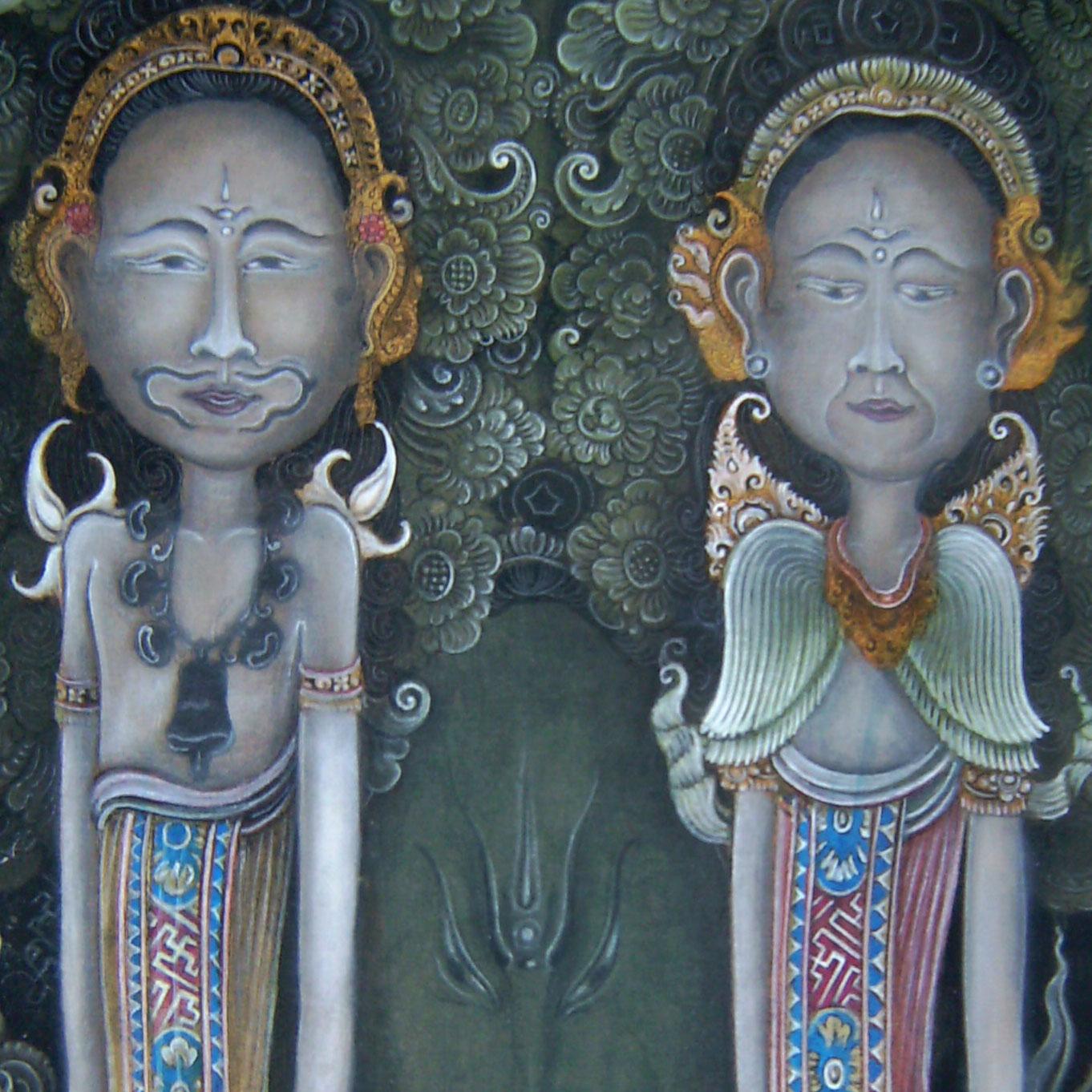 Bali Künstler I-Gusti-Wedagama