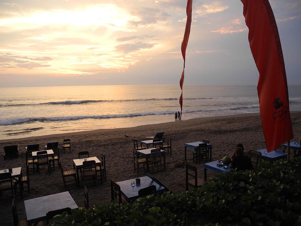 Bali - Restaurant WARUNG-PANTAI